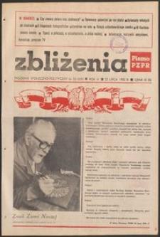 Zbliżenia : tygodnik społeczno-polityczny, 1982, nr 23
