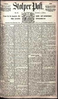 Stolper Post Nr. 38/1885