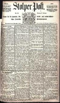 Stolper Post Nr. 39/1885