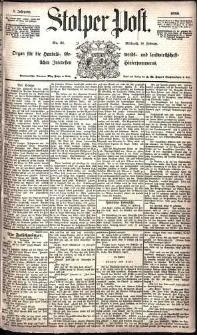 Stolper Post Nr. 41/1885