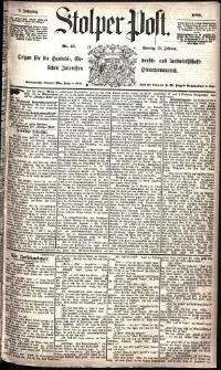 Stolper Post Nr. 45/1885