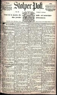 Stolper Post Nr. 46/1885