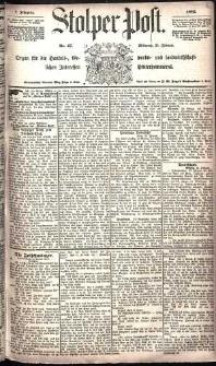 Stolper Post Nr. 47/1885