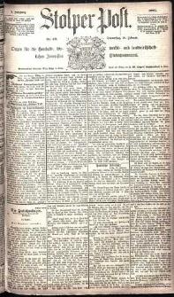 Stolper Post Nr. 48/1885