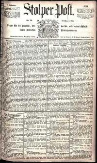 Stolper Post Nr. 52/1885