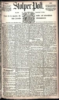 Stolper Post Nr. 60/1885