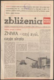 Zbliżenia : tygodnik społeczno-polityczny, 1982, nr 27
