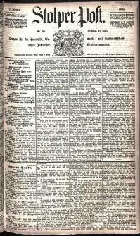 Stolper Post Nr. 65/1885