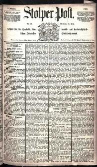Stolper Post Nr. 71/1885