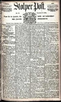 Stolper Post Nr. 74/1885