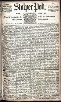 Stolper Post Nr. 80/1885