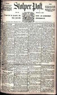 Stolper Post Nr. 81/1885