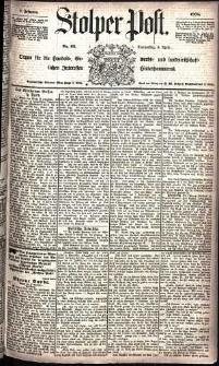 Stolper Post Nr. 82/1885