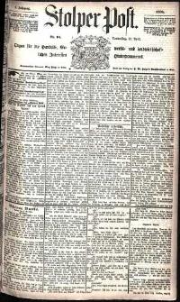 Stolper Post Nr. 94/1885