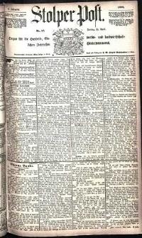 Stolper Post Nr. 75/1885