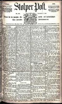Stolper Post Nr. 101/1885