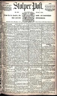 Stolper Post Nr. 102/1885