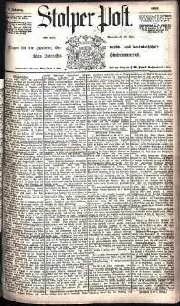 Stolper Post Nr. 112/1885