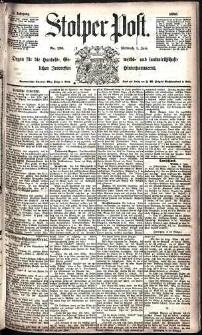 Stolper Post Nr. 126/1885