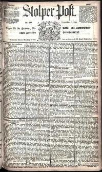 Stolper Post Nr. 133/1885