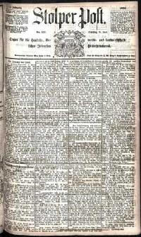 Stolper Post Nr. 137/1885