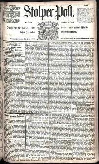 Stolper Post Nr. 140/1885
