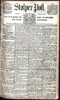 Stolper Post Nr. 148/1885