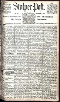 Stolper Post Nr. 151/1885