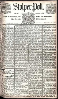 Stolper Post Nr. 153/1885