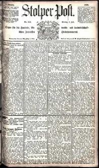 Stolper Post Nr. 154/1885