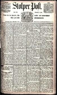 Stolper Post Nr. 156/1885