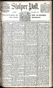 Stolper Post Nr. 157/1885