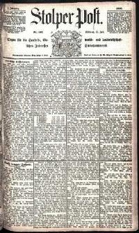Stolper Post Nr. 162/1885