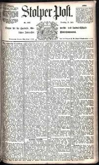 Stolper Post Nr. 167/1885