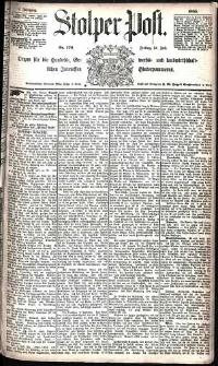 Stolper Post Nr. 170/1885