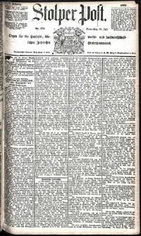 Stolper Post Nr. 175/1885