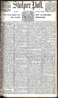 Stolper Post Nr. 181/1885
