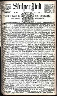 Stolper Post Nr. 182/1885