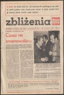 Zbliżenia : tygodnik społeczno-polityczny, 1982, nr 44
