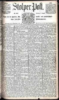 Stolper Post Nr. 190/1885