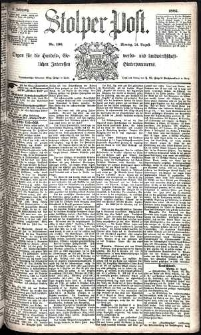 Stolper Post Nr. 196/1885