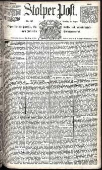 Stolper Post Nr. 197/1885