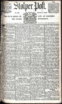 Stolper Post Nr. 198/1885