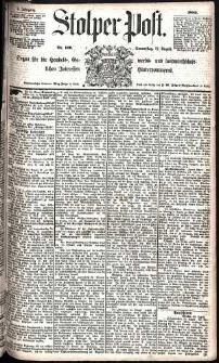 Stolper Post Nr. 199/1885