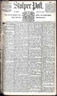 Stolper Post Nr. 200/1885