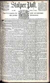 Stolper Post Nr. 202/1885