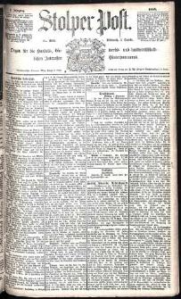 Stolper Post Nr. 204/1885