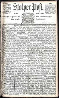 Stolper Post Nr. 206/1885