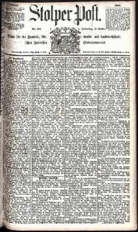 Stolper Post Nr. 211/1885