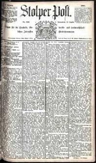 Stolper Post Nr. 219/1885
